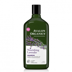 Avalon Organics Lavander Nourishing Shampoo – Шампунь Лаванда, 325 мл