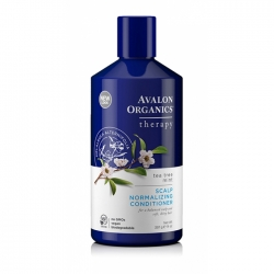 Avalon Organics Tea Tree Mint Treatment Conditioner  - Лечебный кондиционер Чайное дерево Мята, 400 мл