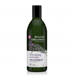 Avalon Organics Lavander Bath&Shower Gel – Гель для душа Лаванда, 355 мл
