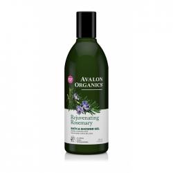 Avalon Organics Rosemary Bath&Shower Gel– Гель для душа Розмарин, 355 мл