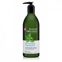 Avalon Organics Peppermint - Лосьон с мятою, 360 мл
