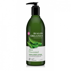 Avalon Organics Aloe Unscented - Лосьон без запаха, 360 мл