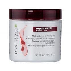 Matrix Biolage Repairinside - Маска для реконструкции сильно поврежденных и ломких волос, 150 мл