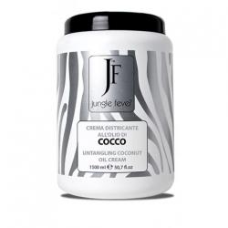 Jungle Fever Untangling Coconut Oil Cream - Крем смягчающий с маслом кокосового ореха, 1500 мл