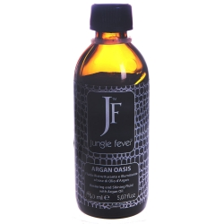 Jungle Fever Argan Oasis Restoring&Shining Fluid - Масло для сухих, поврежденных волос, 150 мл