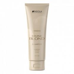 Indola Divine Blond Shampoo - Восстанавливающий Шампунь для светлых Волос, 250 мл