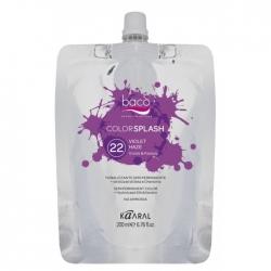 Kaaral Colorsplash Vivids-Pastels 22 Violet Haze - Перманентный краситель фиолетовый 200 мл
