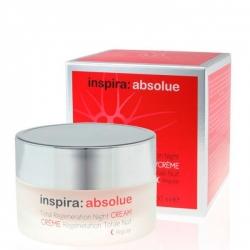 Janssen Cosmetics Inspira Absolue Total Regeneration Night Cream Regular - Легкий ночной регенерирующий лифтинг-крем 50мл