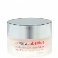 Janssen Cosmetics Inspira Absolue Total Regeneration Night Cream Regular - Легкий ночной регенерирующий лифтинг-крем 100мл