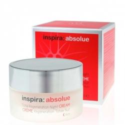 Janssen Cosmetics Inspira Absolue Total Regeneration Night Cream Rich - Обогащенный ночной регенерирующий лифтинг-крем 50мл