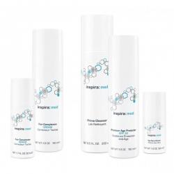 Inspira Cosmetics inspira:med Peel Set - Набор Химического Пилинга на Основе Биокомплекса Фруктовых Кислот