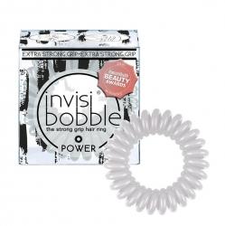 Invisibobble Power Smokey Eye - Резинка для волос дымчато-серый, 3 шт