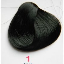 Nouvelle Lively Hair Color - Краска для волос 1 Чёрный, 100 мл