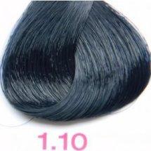 Nouvelle Lively Hair Color - Краска для волос 1.10 Синевато-Чёрный, 100 мл
