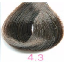 Nouvelle Lively Hair Color - Краска для волос 4.3 Золотистый Каштан, 100 мл