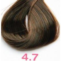 Nouvelle Lively Hair Color - Краска для волос 4.7 Коричневый Каштан, 100 мл