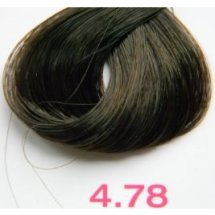 Nouvelle Lively Hair Color - Краска для волос 4.78 Холодный Коричневый, 100 мл
