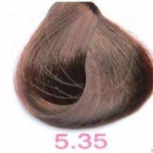 Nouvelle Lively Hair Color - Краска для волос 5.35 Светло-Каштановый Золотистый Махагон, 100 мл