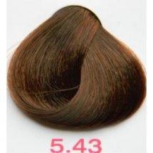 Nouvelle Lively Hair Color - Краска для волос 5.43 Золотисто-Медный Светлый Каштан, 100 мл