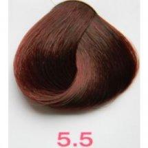 Nouvelle Lively Hair Color - Краска для волос 5.5 Светло-Каштановый Махагон, 100 мл