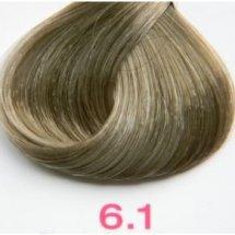 Nouvelle Lively Hair Color - Краска для волос 6.1 Пепельный Тёмный Блонд, 100 мл