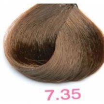 Nouvelle Lively Hair Color - Краска для волос 7.35 Золотистый Блонд Махагон, 100 мл