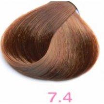 Nouvelle Lively Hair Color - Краска для волос 7.4 Медный Блонд, 100 мл