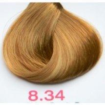 Nouvelle Lively Hair Color - Краска для волос 8.34 Медно-Золотистый Светлый Блонд, 100 мл