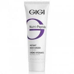 GIGI Cosmetic Labs Instant Moist. DRY Skin - Пептидний крем мгновенно увлажняющий для сухой кожи, 50 мл