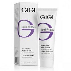 GIGI Cosmetic Labs Balancing Moist. OILY Skin \ Пептид. Балансир. крем для жирной кожи, 50 мл