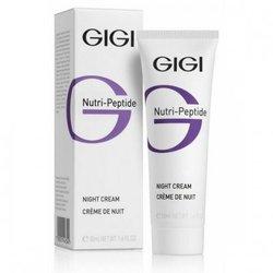 GIGI Cosmetic Labs Night Cream - Пептидный ночной крем, 50 мл