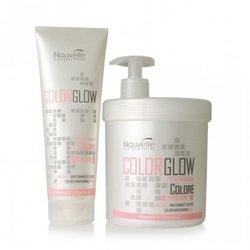 Nouvelle Maintenance Mask Color Glow - Маска для окрашенных волос с витамином E, 1000 мл