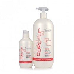 Nouvelle Protein Shampoo - Шампунь протеиновый питающий для поврежденных волос, 1000 мл