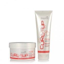Nouvelle Curl Me Up Protein - маска протеиновая питающая для поврежденных волос, 250 мл