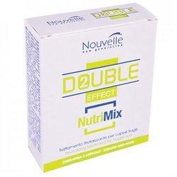 Nouvelle Double Effect Nutrimix - Оживляющее средство для волос в ампулах, 10*10 мл