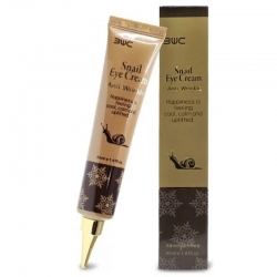 3W Clinic Snail Eye Cream Anti Wrinkle -  Крем для глаз с улиточным муцином, 40 мл