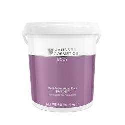 """Janssen Cosmetics Body - Микронизированные водоросли """"Бриттани"""" для ревитализирующих и антицеллюлитных обертываний 4 кг"""