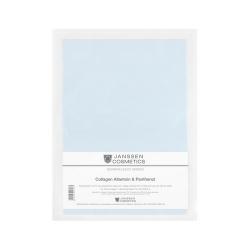 Janssen Dermafleece masks Collagen Allantoin - Коллагеновая биоматрица с аллантоином и пантенолом (голубая) 1 шт