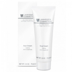 Janssen All Skin Needs Retexturising Scar Cream - Крем Против Рубцовых Изменений Кожи 75мл