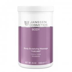"Janssen Cosmetics Body Sculpturing Massage ""Tuscany"" - Структурирующий Массажный Крем 1000мл"