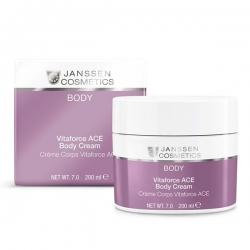 Janssen Cosmetics Body Vitaforce A, C, E Body Cream - Насыщенный крем для тела с витаминами A, C и E, 200мл