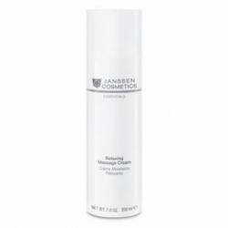 Janssen Dry Skin Relaxing Massage Cream - Релаксирующий Массажный Крем для Лица 200мл