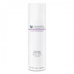 Janssen Facial Cream Masks Fruit Peel Cream Mask - Очищающая Крем-Маска с AHA-кислотами 200мл