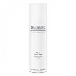 Janssen Facial Cream Masks Moor Cream Mask - Ревитализирующая Крем-Маска для Всех Типов Кожи 200мл