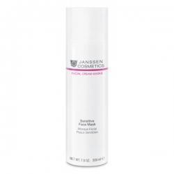 Janssen Facial Cream Masks Sensitive Face Mask - Успокаивающая Крем-Маска для Чувствительной Кожи 200мл