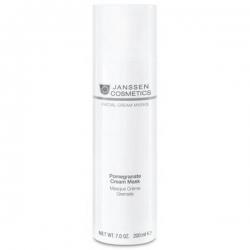 Janssen Facial Cream Pomegranate Cream Mask - Омолаживающая крем-маска с экстрактом граната и витамином 200мл