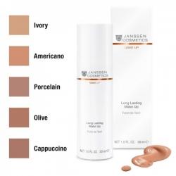 Janssen Secret Look!S Perfect Radiance Make-up - Стойкий тональный крем с UV-защитой SPF-15 для всех типов кожи (айвори) 30мл
