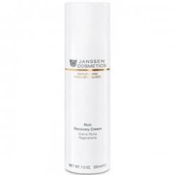 Janssen Mature Skin Rich Recovery Cream - Обогащенный Антивозрастной регенерирующий крем 200мл