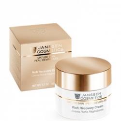 Janssen Mature Skin Rich Recovery Cream - Обогащенный Антивозрастной регенерирующий крем 50мл