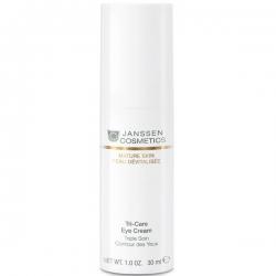 Janssen Mature Skin Tri-Care Eye Cream - Омолаживающий укрепляющий крем для контура глаз 30мл